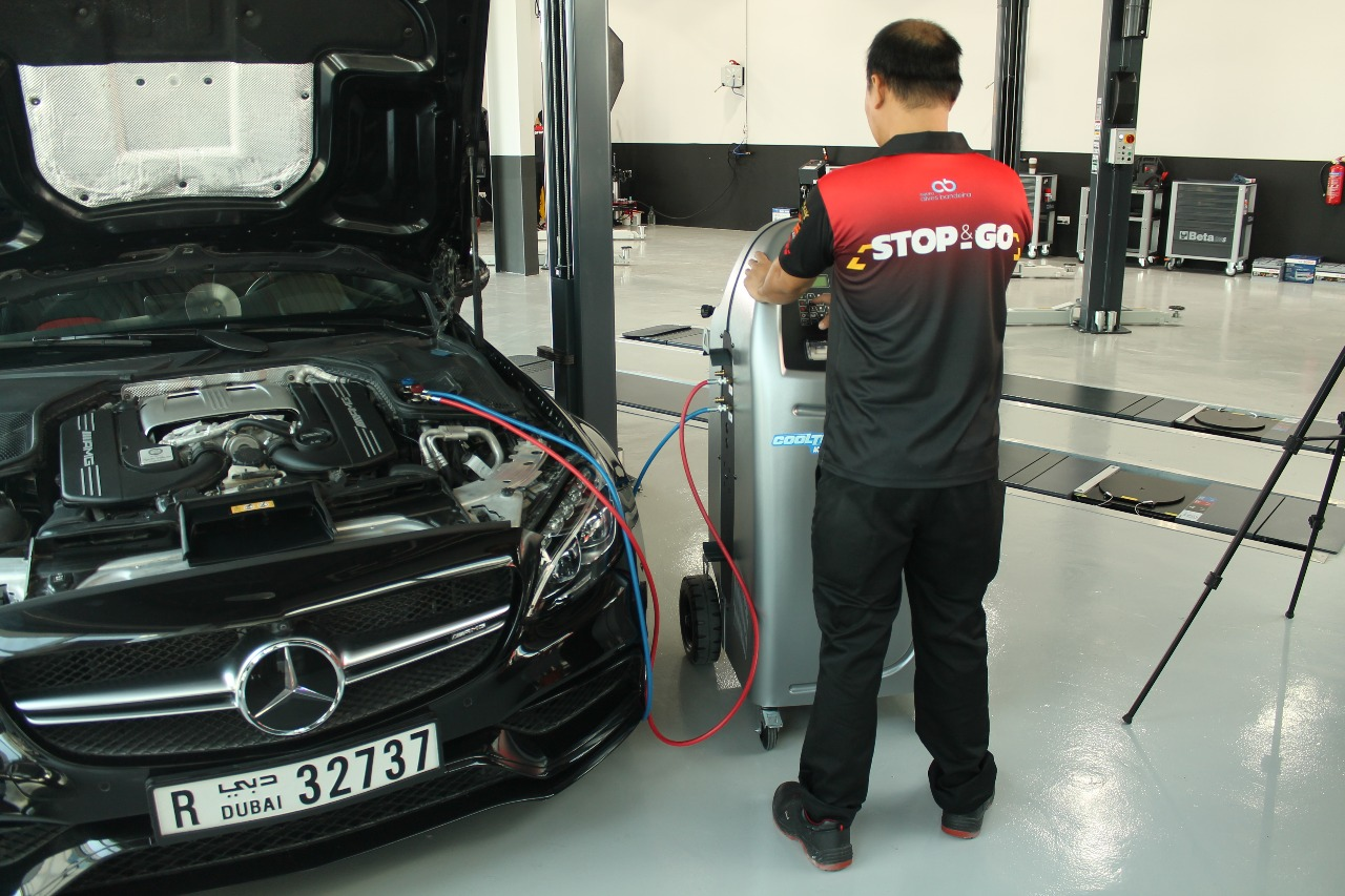 Car AC Repair Service Dubai
